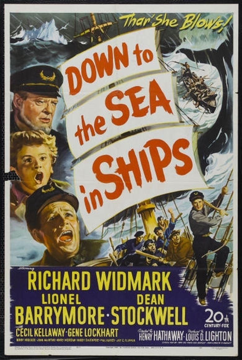 Down to the Sea in Ships (1949 film) movie poster