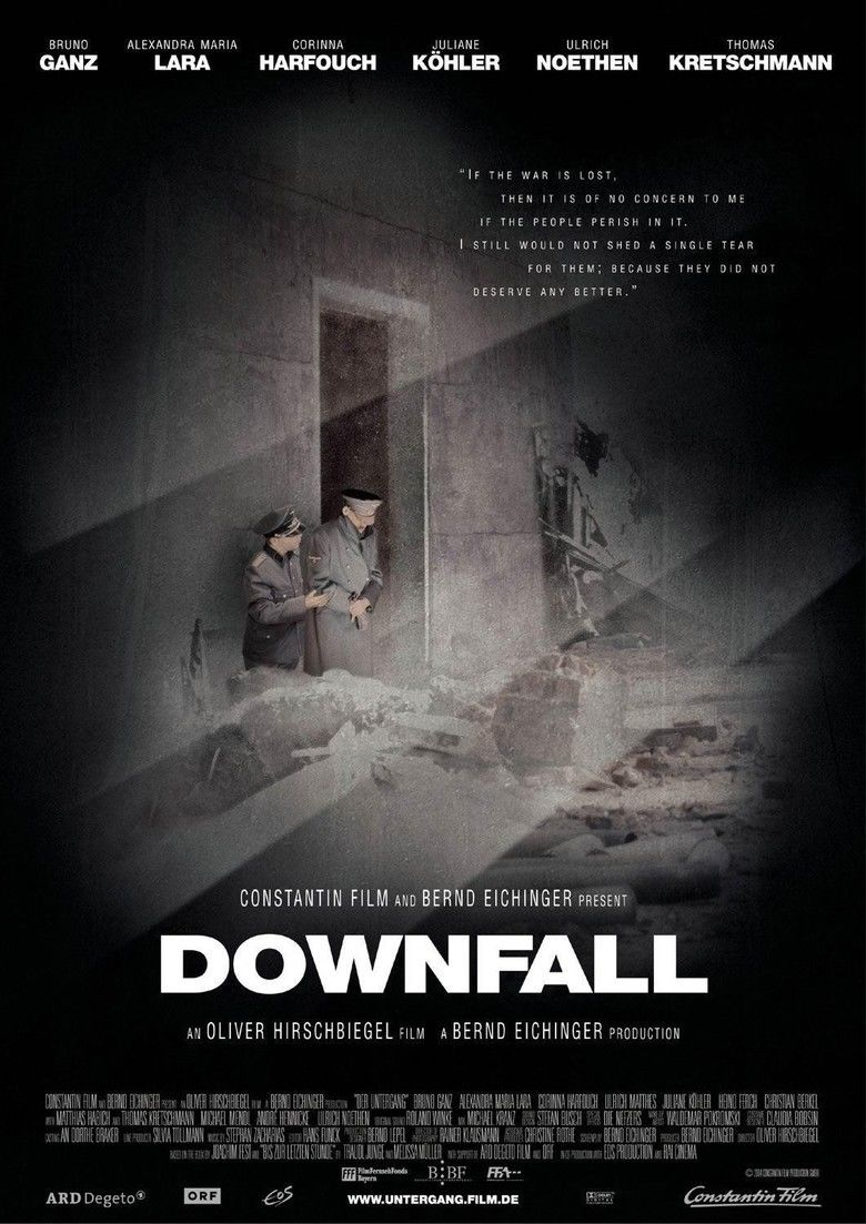 Downfall (2004 film) movie poster