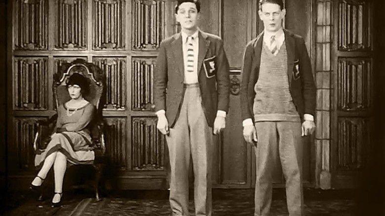 Downhill (1927 film) movie scenes