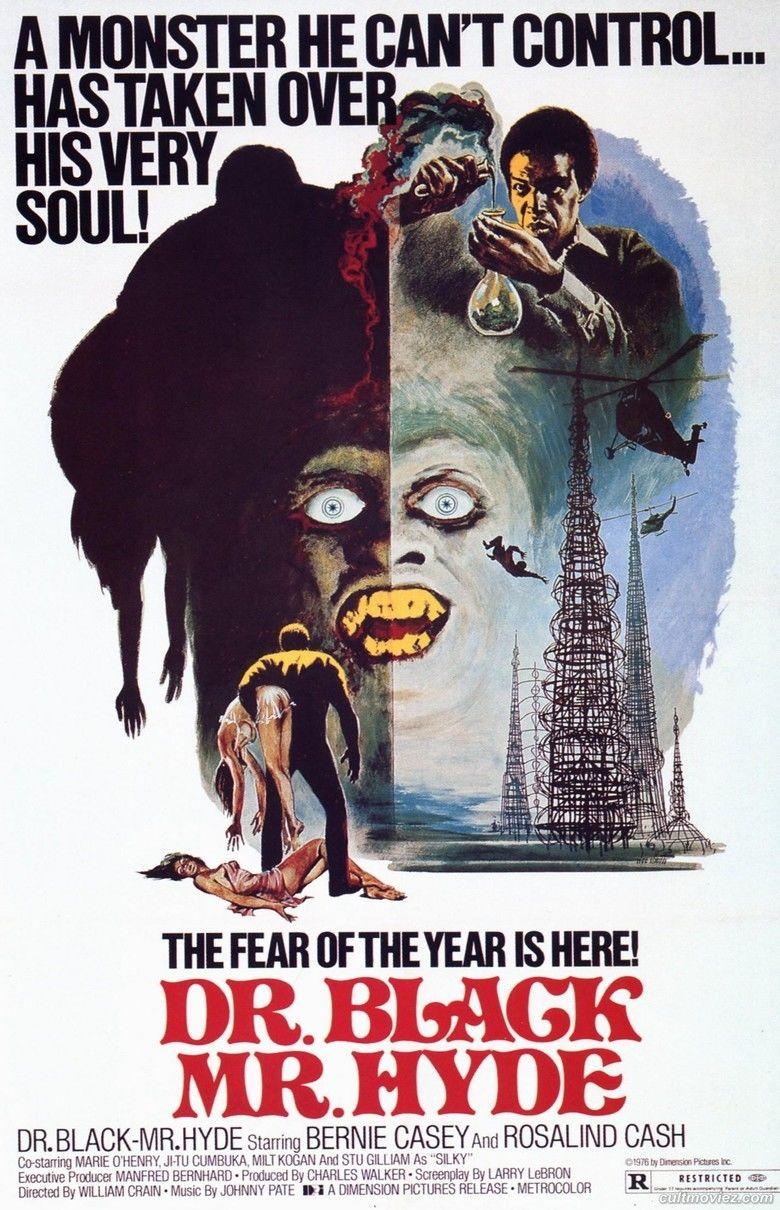 Dr Black, Mr Hyde movie poster