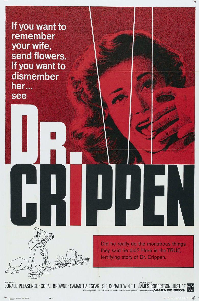 Dr Crippen (1962 film) movie poster