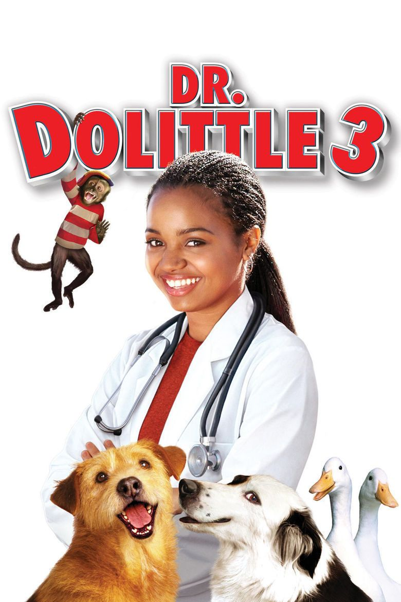 Dr Dolittle 3 movie poster