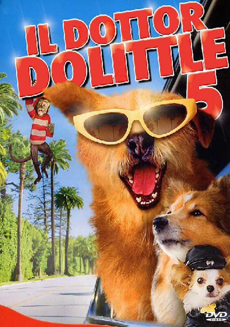 Dr Dolittle: Million Dollar Mutts movie poster