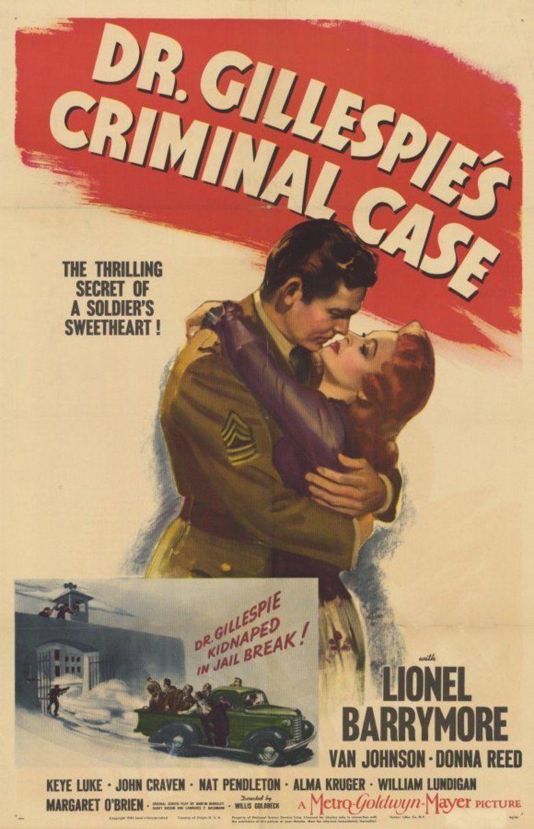Dr Gillespies Criminal Case movie poster