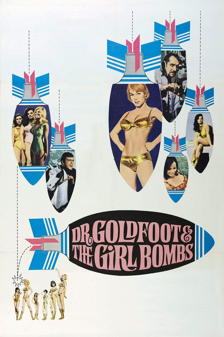 Dr Goldfoot and the Girl Bombs movie poster