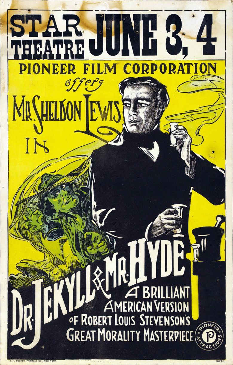 Dr Jekyll and Mr Hyde (1920 Haydon film) movie poster