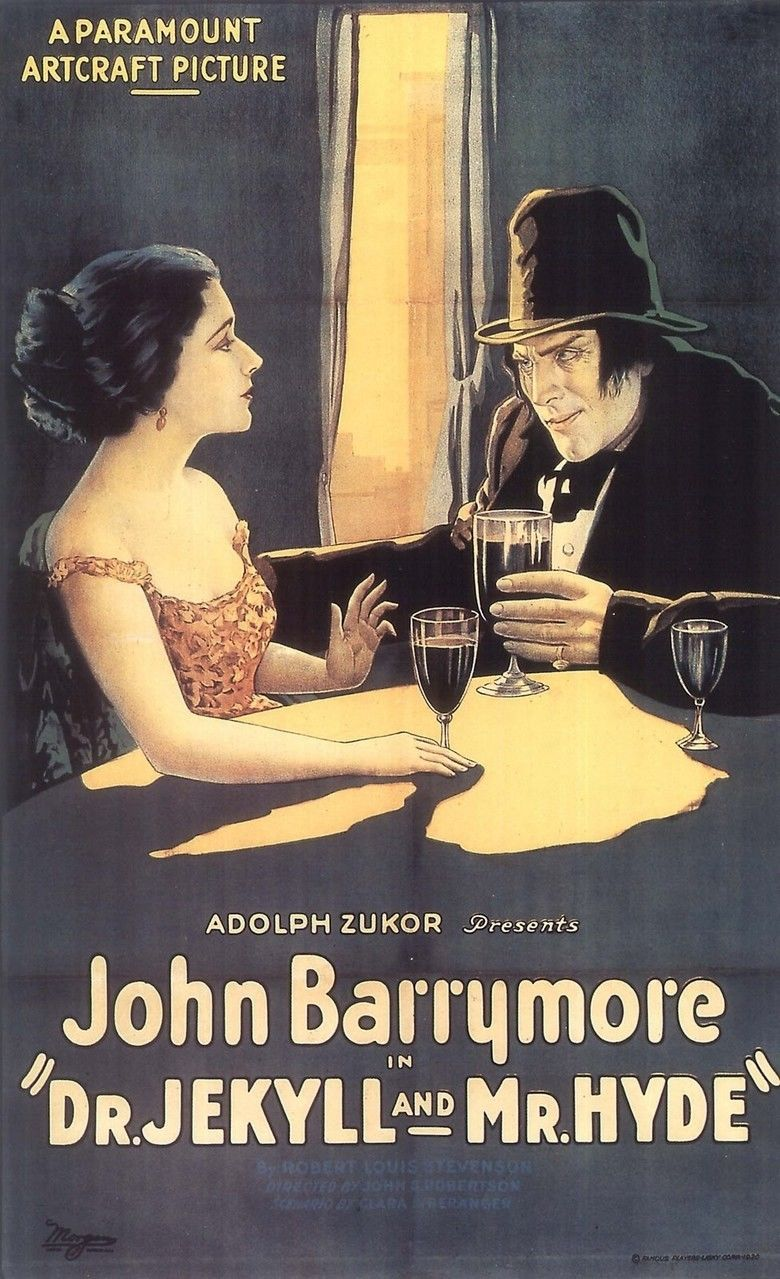 Dr Jekyll and Mr Hyde (1920 film) movie poster