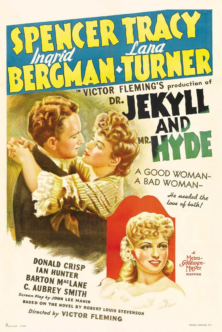 Dr Jekyll and Mr Hyde (1941 film) movie poster