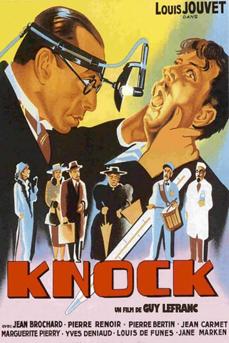 Dr Knock movie poster