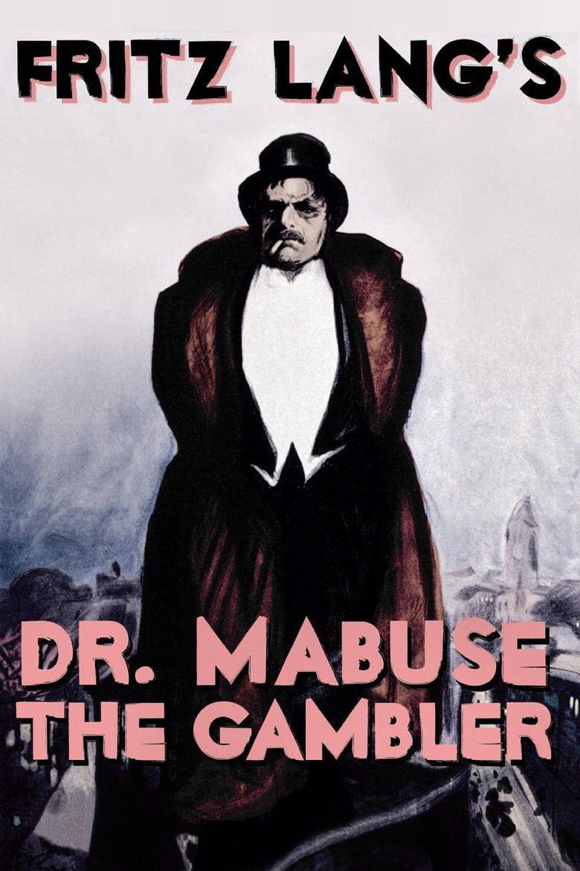 Dr Mabuse the Gambler movie poster