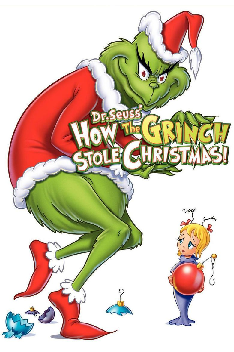 Dr Seuss How the Grinch Stole Christmas! (TV special) movie poster