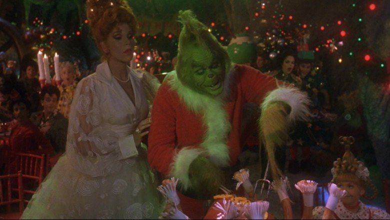 Dr Seuss How the Grinch Stole Christmas (film) movie scenes