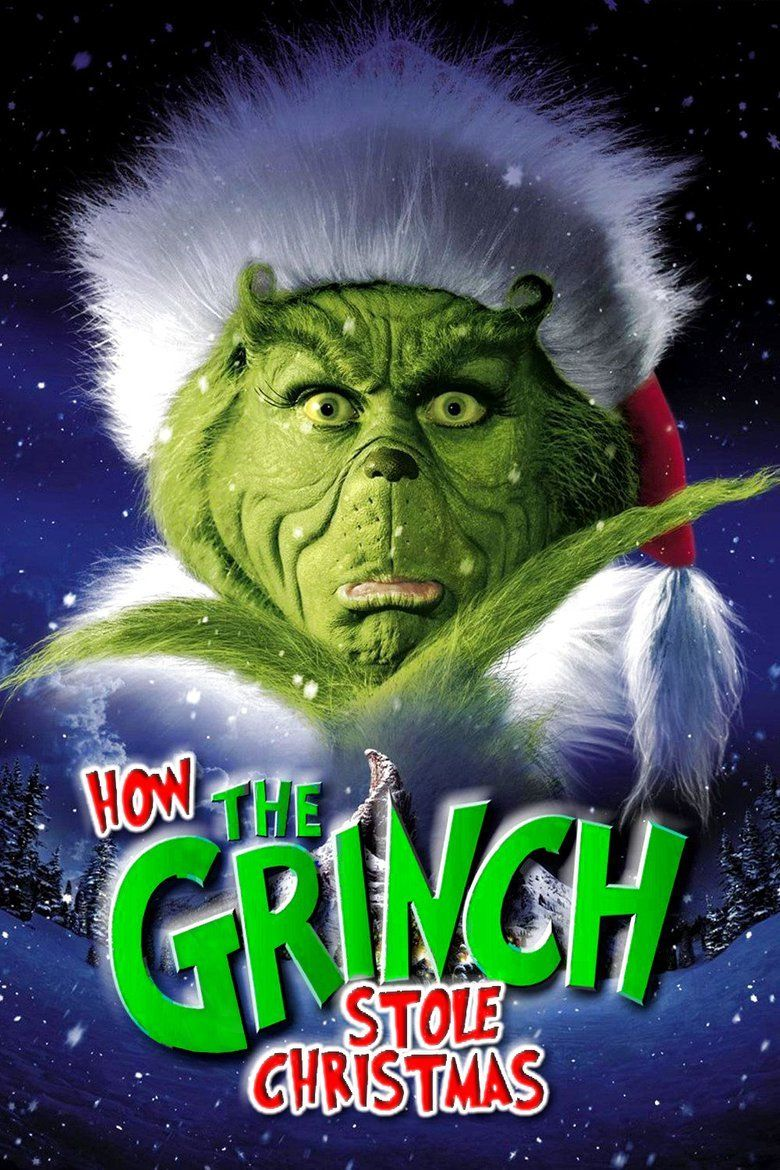Dr Seuss How the Grinch Stole Christmas (film) movie poster