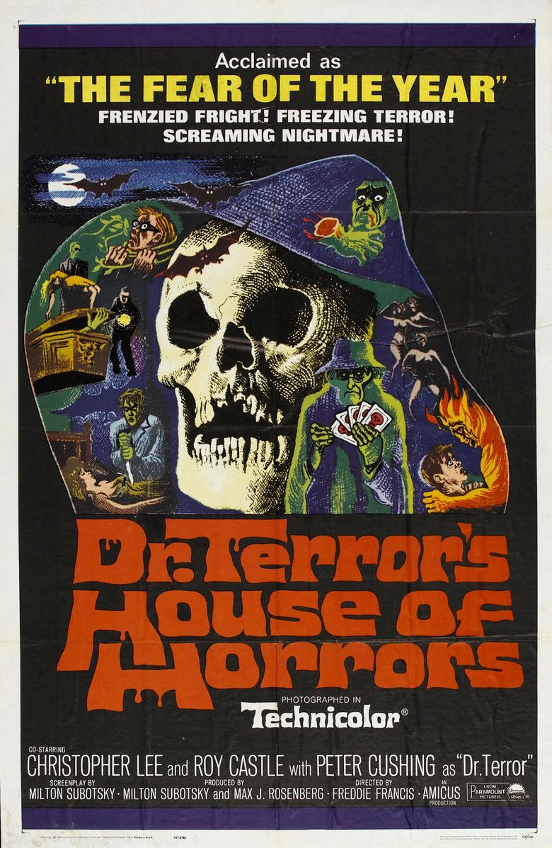 Dr Terrors House of Horrors movie poster