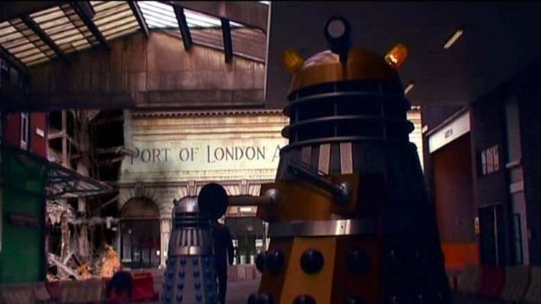 Dr Who and the Daleks movie scenes
