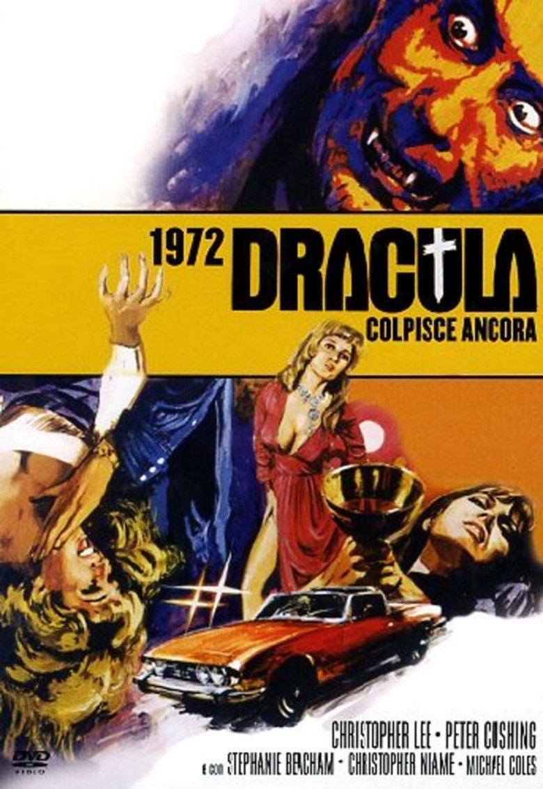 Dracula AD 1972 movie poster