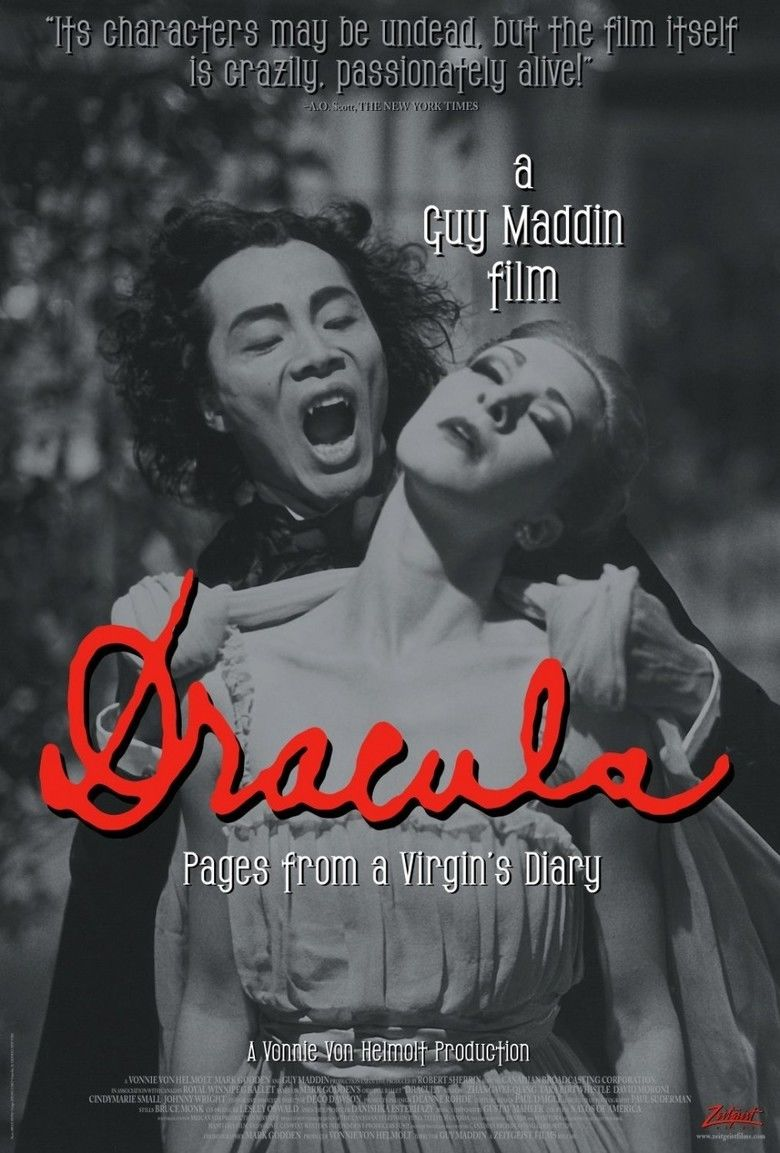 Dracula: Pages from a Virgins Diary movie poster
