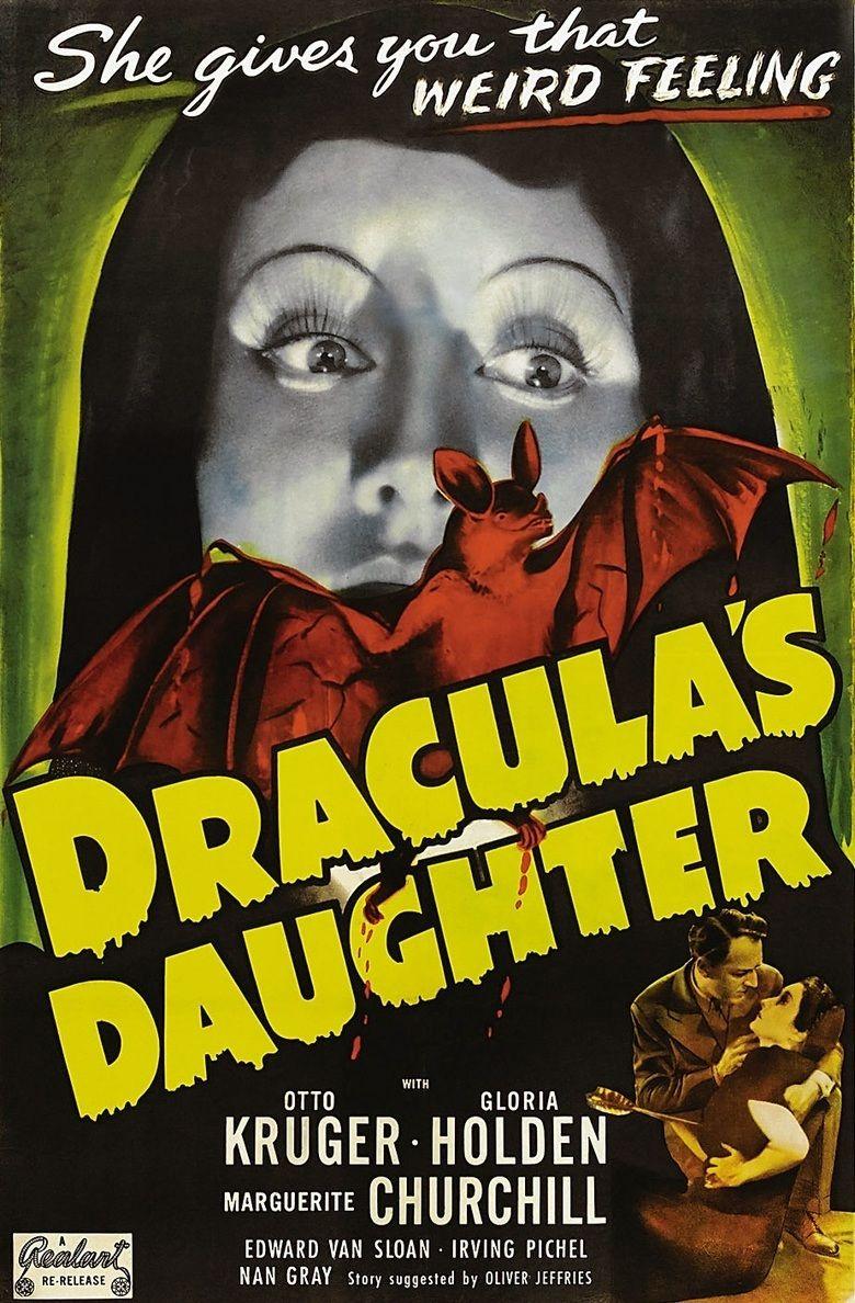 Draculas Daughter movie poster