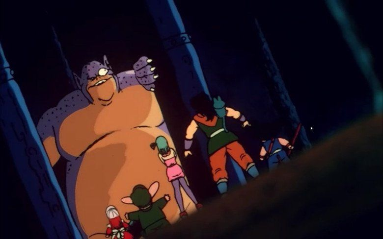 Dragon Ball: Curse of the Blood Rubies movie scenes