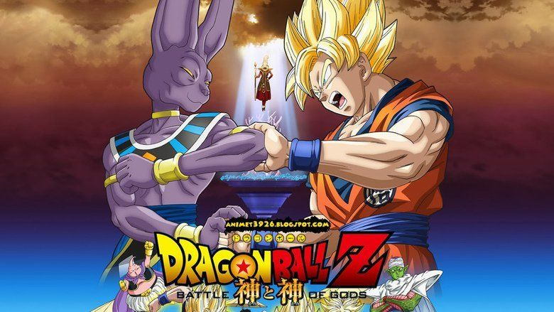 Dragon Ball Z: Battle of Gods movie scenes