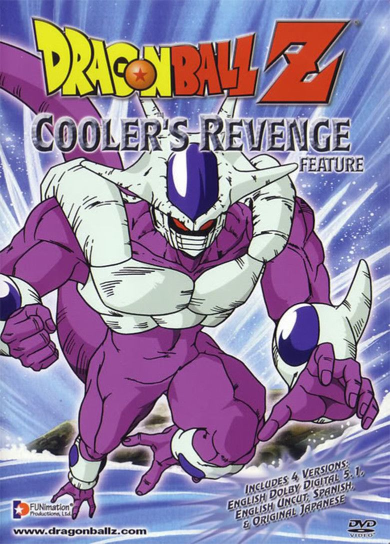 Dragon Ball Z: Coolers Revenge movie poster