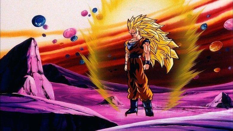 Dragon Ball Z: Fusion Reborn movie scenes