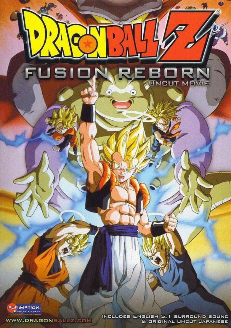 Dragon Ball Z: Fusion Reborn movie poster