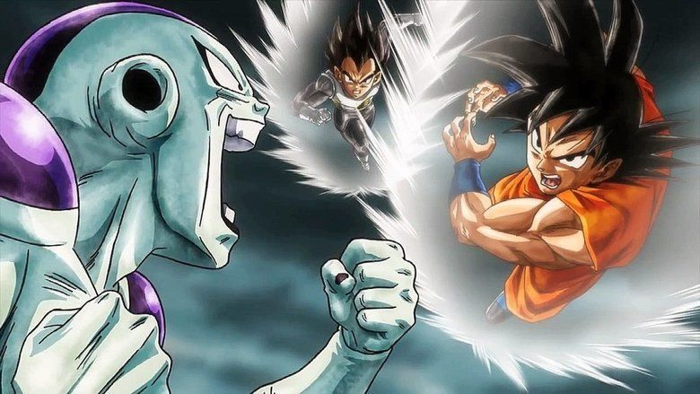 Dragon Ball Z: Resurrection F movie scenes