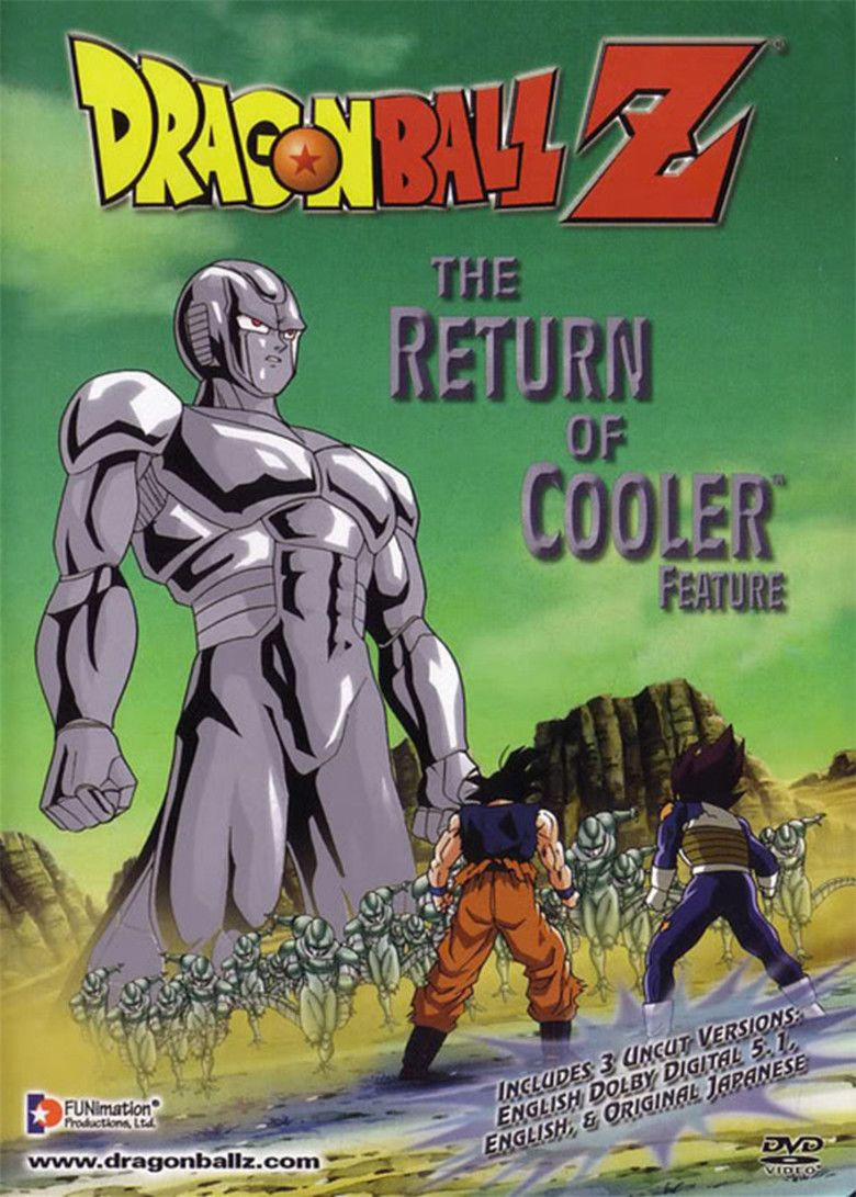 Dragon Ball Z: The Return of Cooler movie poster