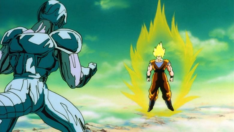 Dragon Ball Z: The Return of Cooler movie scenes