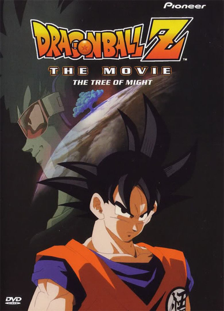 Dragon Ball Z: The Tree of Might movie poster