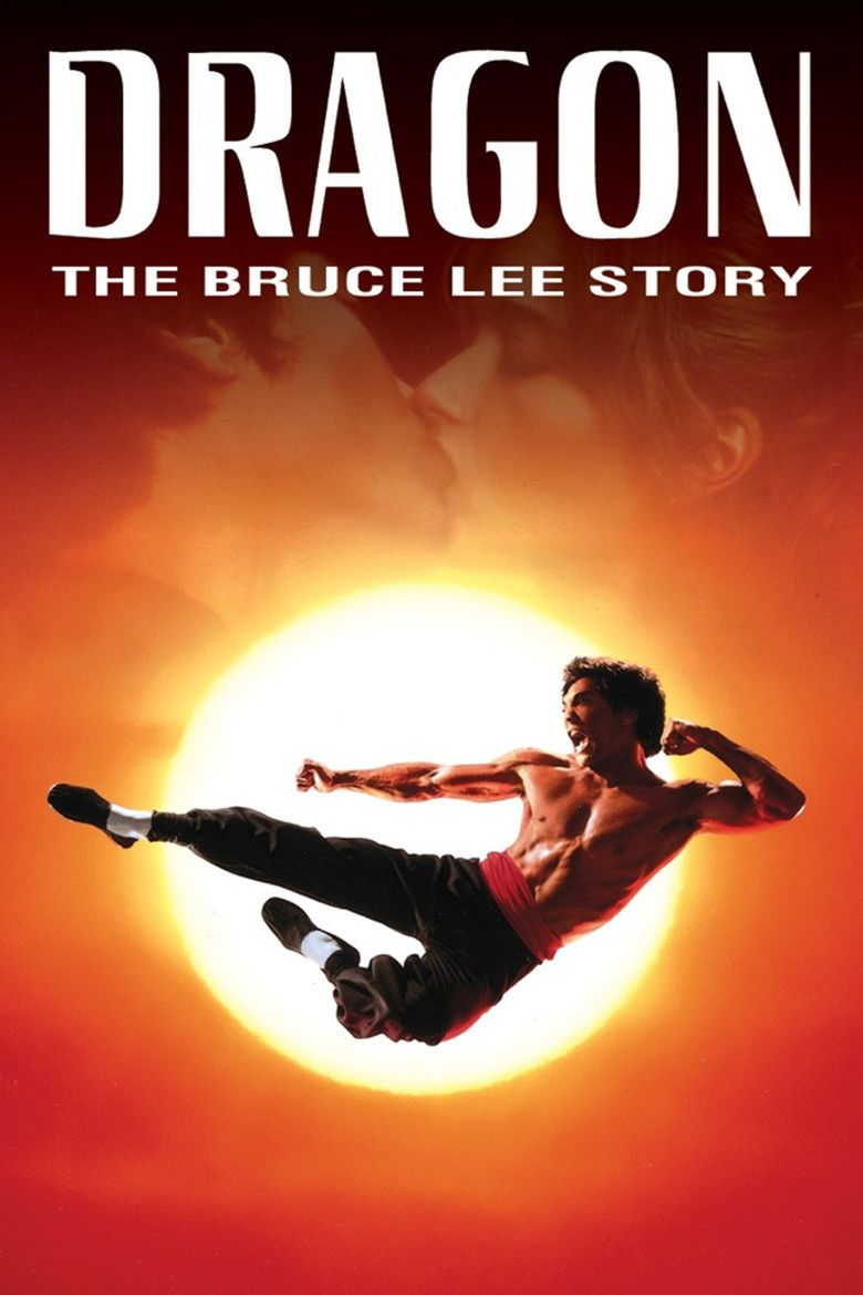 Dragon: The Bruce Lee Story movie poster