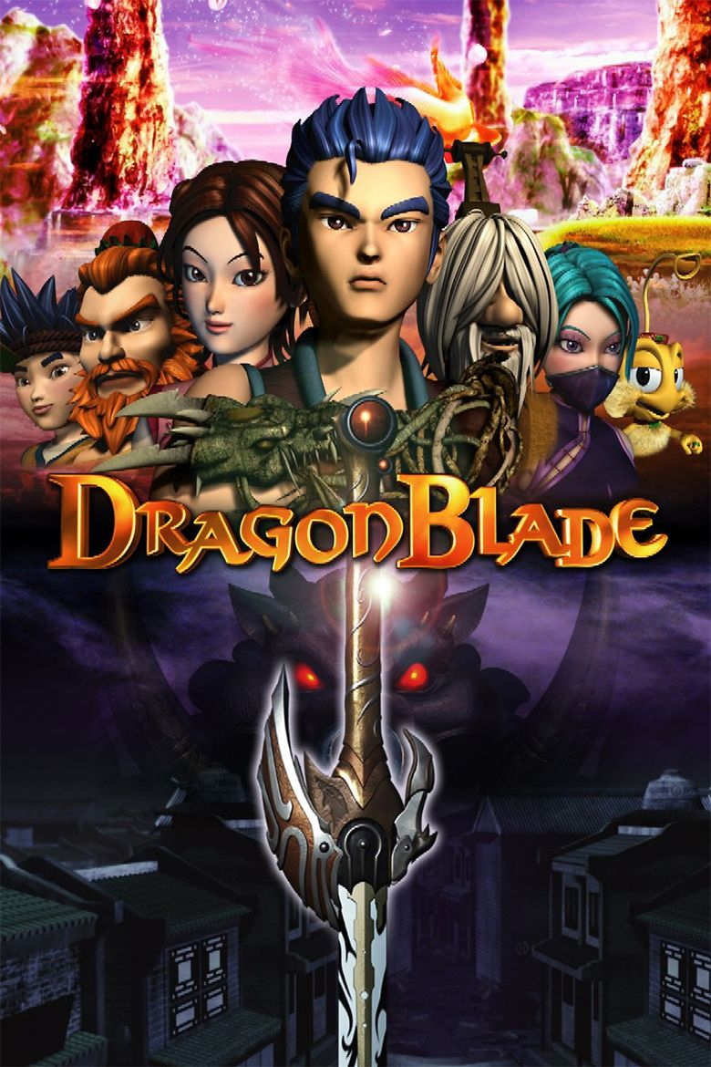 DragonBlade: The Legend of Lang movie poster