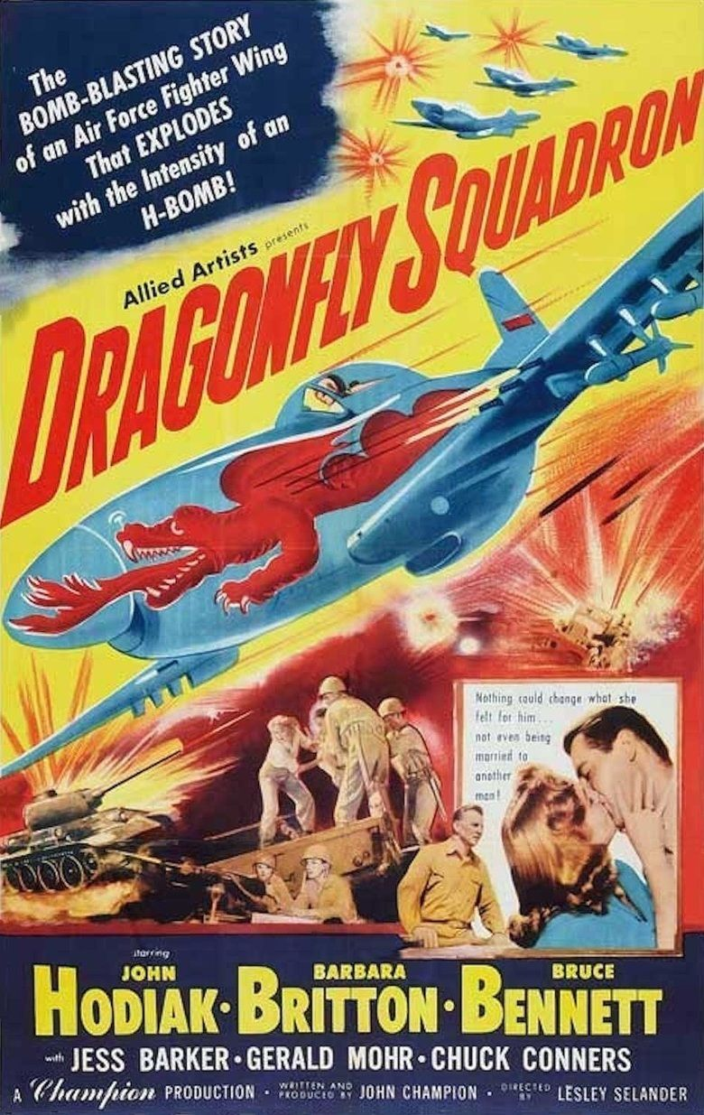 Dragonfly Squadron movie poster