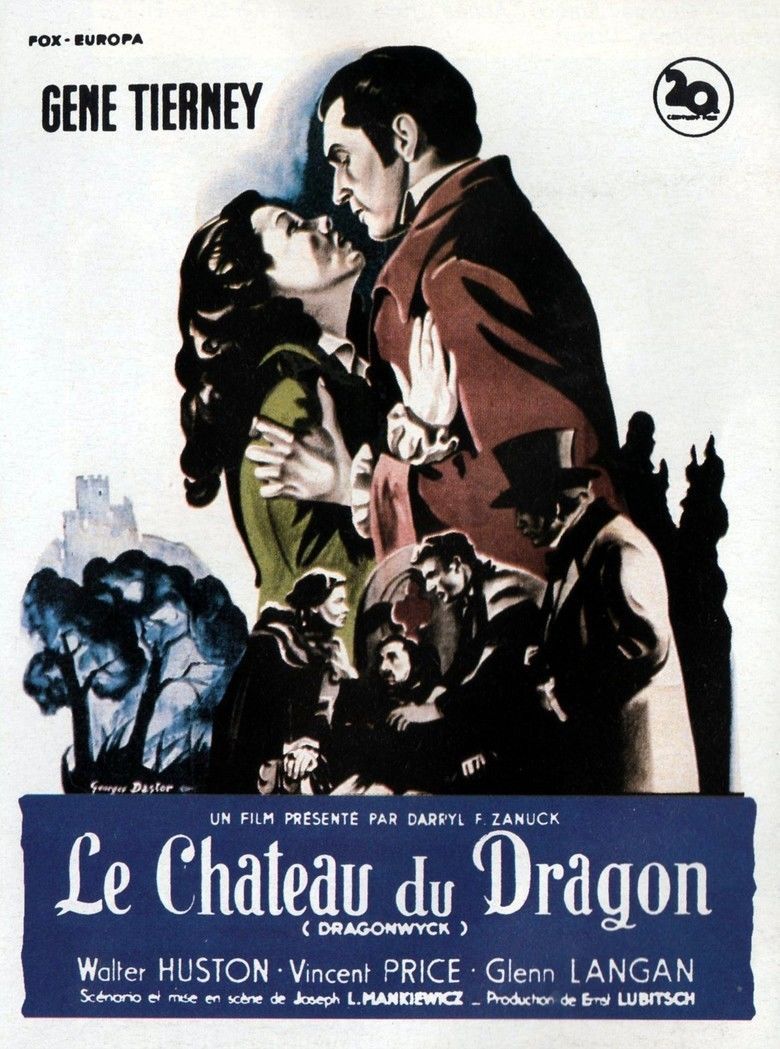 Dragonwyck (film) movie poster