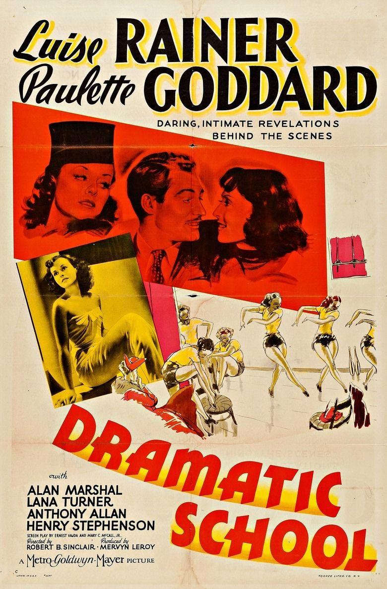 Dramatic School (film) movie poster