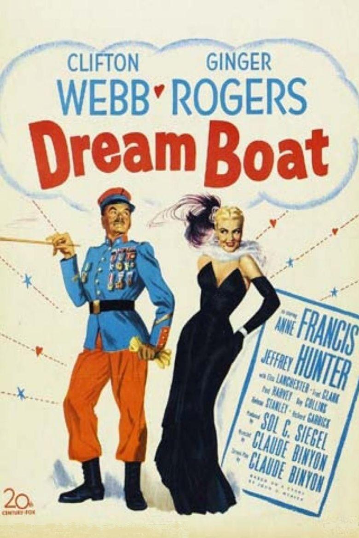 Dreamboat (film) movie poster