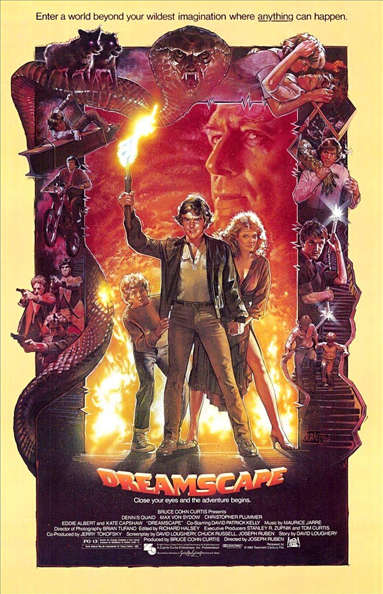 Dreamscape (1984 film) movie poster