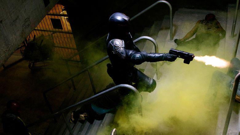 Dredd movie scenes