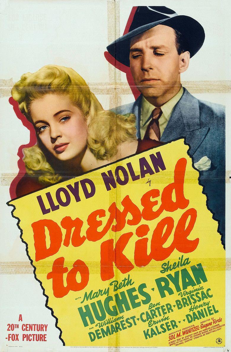 Dressed to Kill (1941 film) movie poster