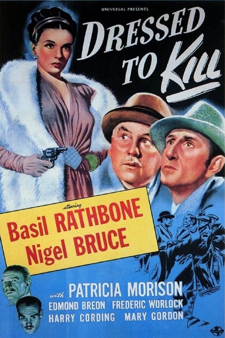 Dressed to Kill (1946 film) movie poster