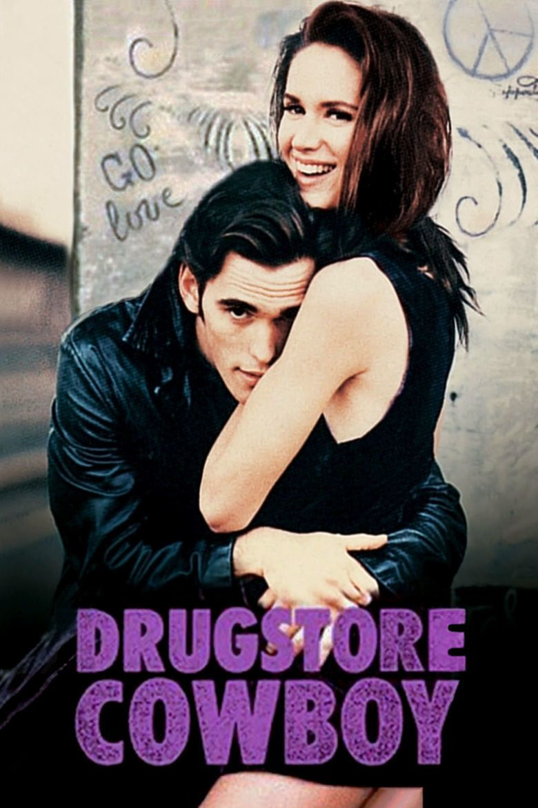 Drugstore Cowboy movie poster