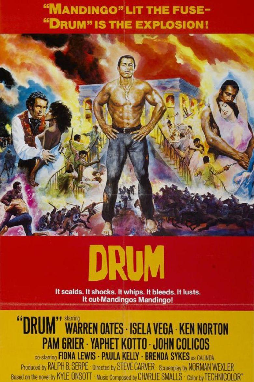 Drum (1976 film) movie poster