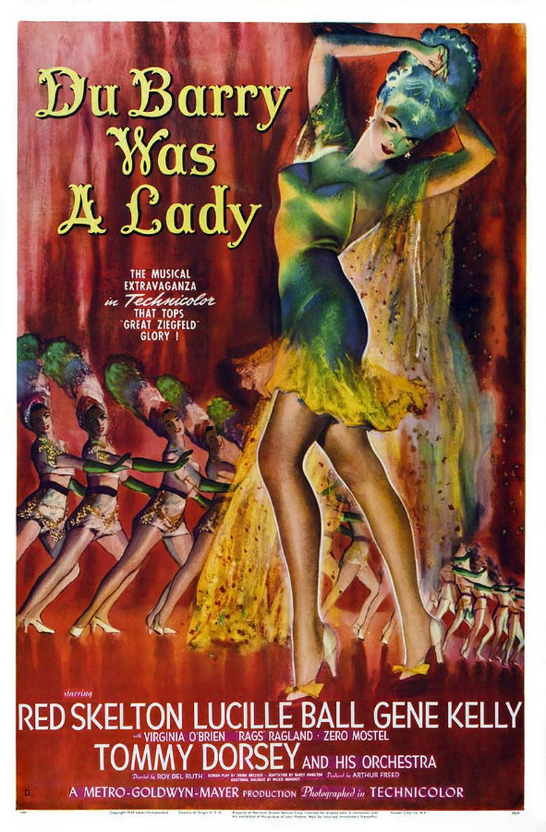 Du Barry Was a Lady (film) movie poster