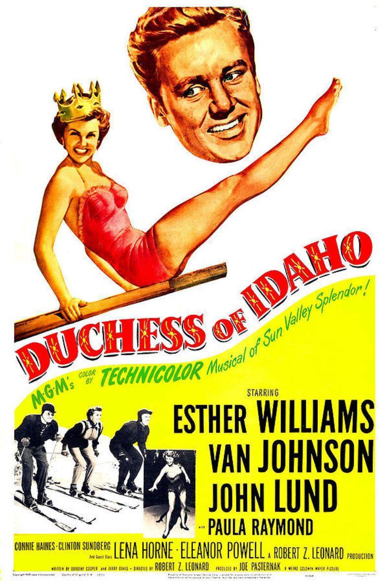 Duchess of Idaho movie poster