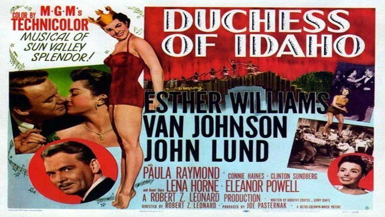 Duchess of Idaho movie scenes