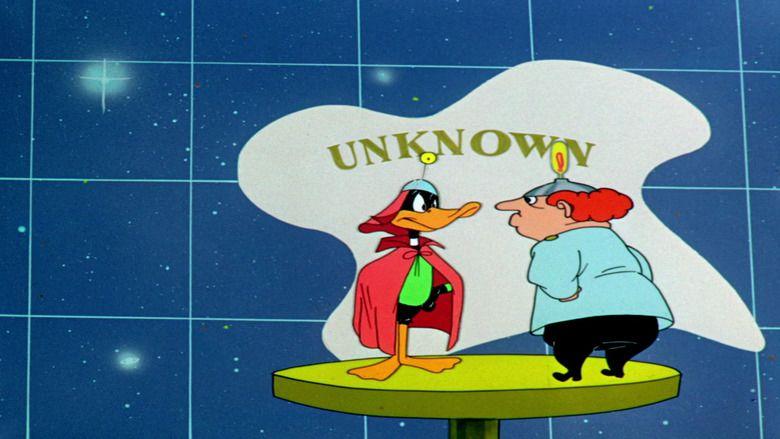 Duck Dodgers in the 24½th Century movie scenes