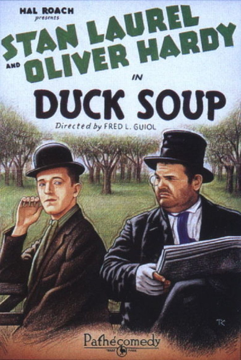 Duck Soup (1927 film) movie poster