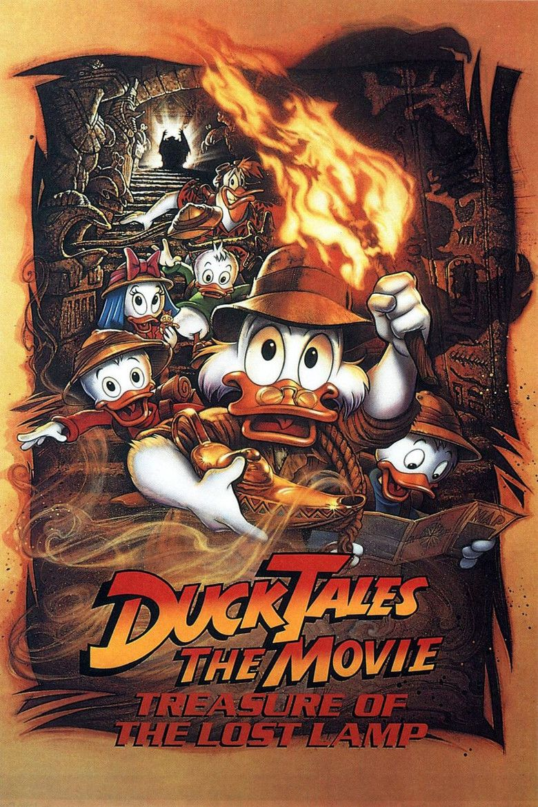 DuckTales the Movie: Treasure of the Lost Lamp movie poster