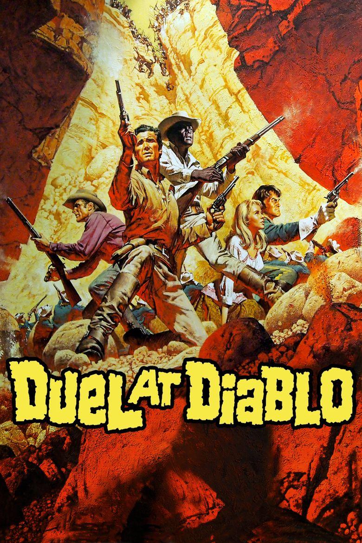 Duel at Diablo movie poster